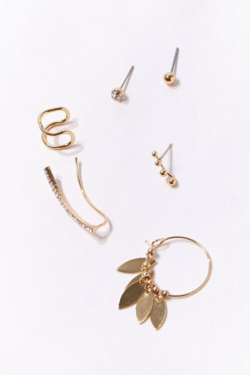 GOLD Variety Earring Set, image 1