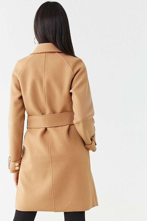 Brushed Double-Breasted Coat, image 3