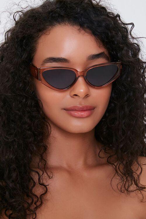 Wide Cat-Eye Sunglasses, image 1