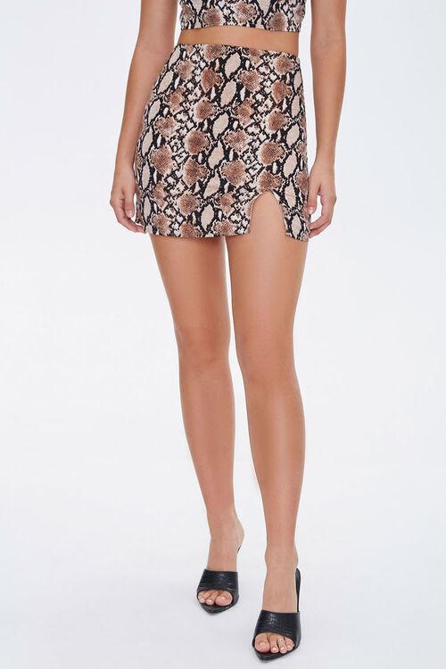 Faux Cropped Cami & Mini Skirt Set, image 6