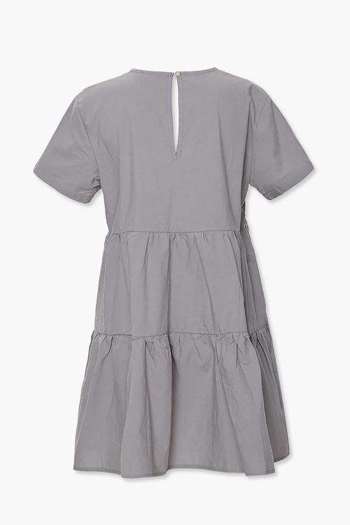 Flounce Shift Mini Dress, image 3