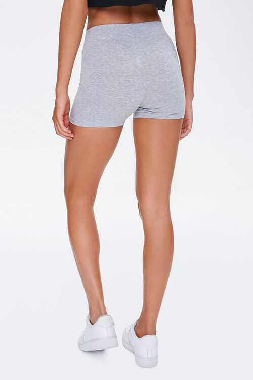 Basic Cotton-Blend Bike Shorts, image 3