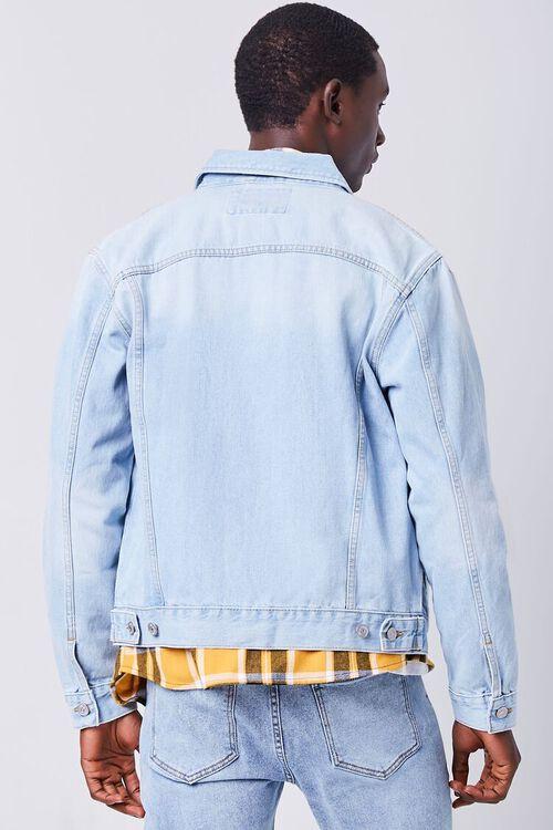 LIGHT DENIM Buttoned Denim Jacket, image 4