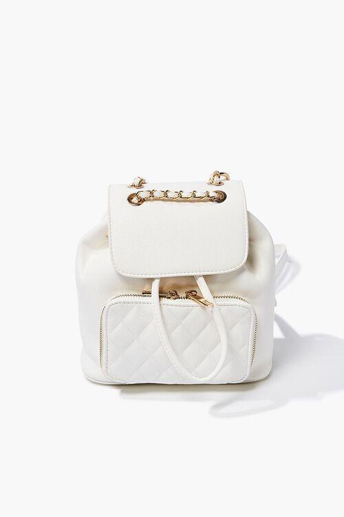 Pebbled Drawstring Backpack, image 1