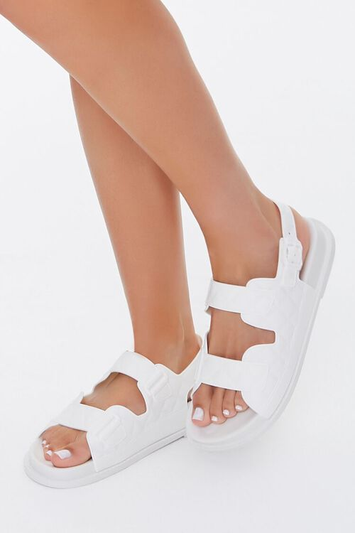 Cutout Flatform Sandals, image 1