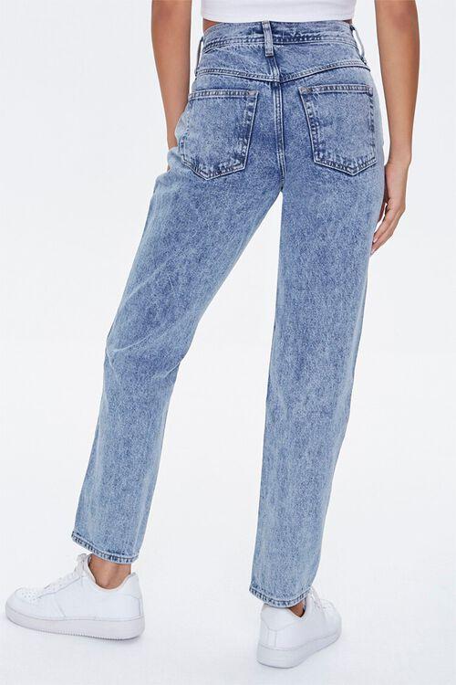 Acid Wash Straight-Leg Jeans, image 4