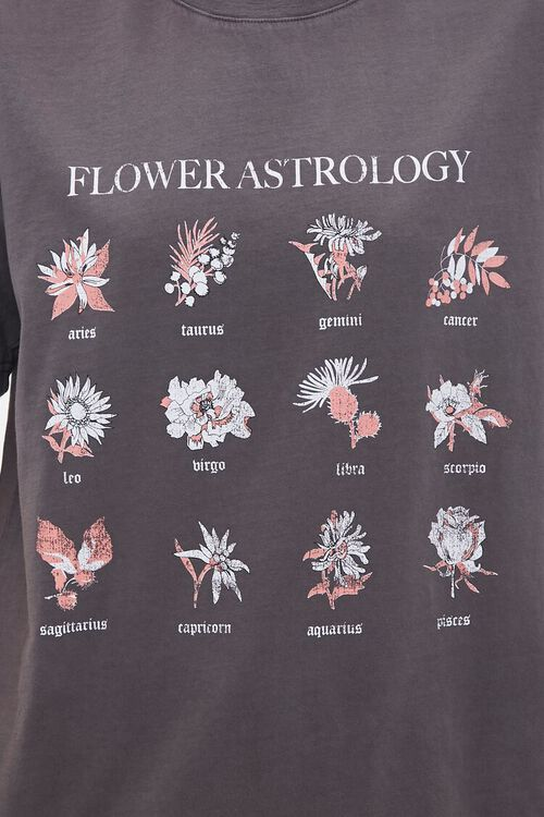 Flower Astrology Graphic Tee, image 5
