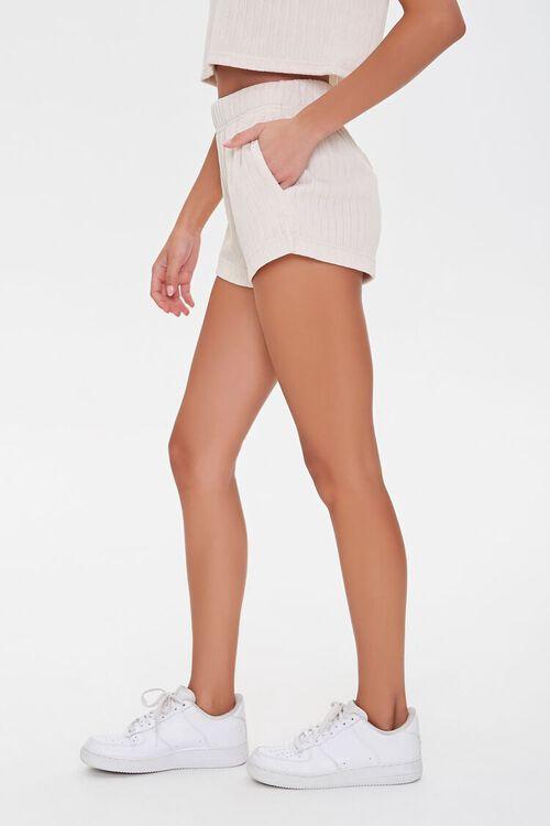 Ribbed Drawstring Shorts, image 3