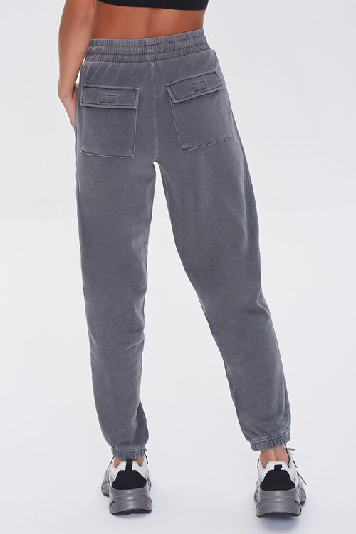 CHARCOAL Side-Striped Joggers, image 4