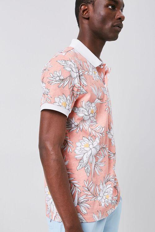 Tropical Print Polo, image 2