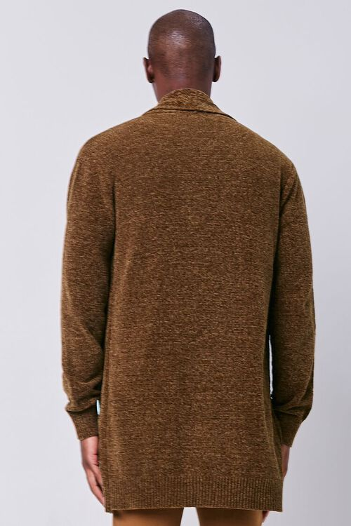 Brushed Knit Cardigan Sweater, image 3