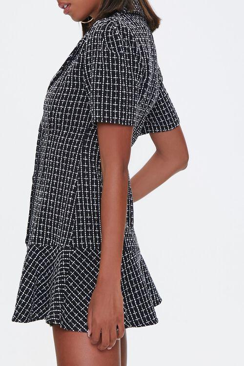 Tweed Blazer Flounce Dress, image 2