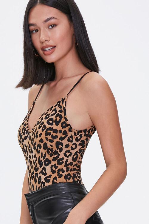 Leopard Print Bodysuit, image 2