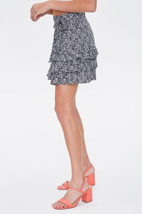 Floral Tiered Flounce-Hem Skirt, image 3