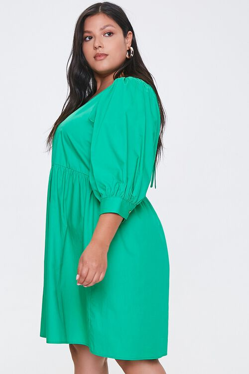 Plus Size Cutout Mini Dress, image 2