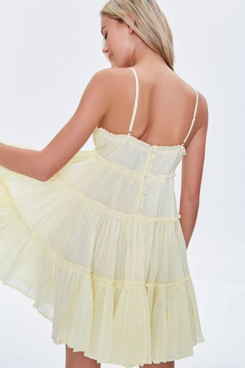 Tiered Fit & Flare Mini Dress, image 3