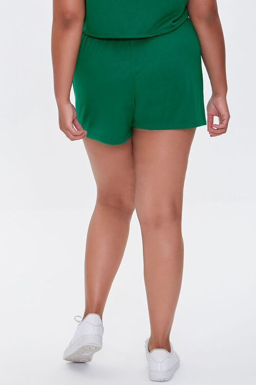 JADE Plus Size French Terry Shorts, image 4