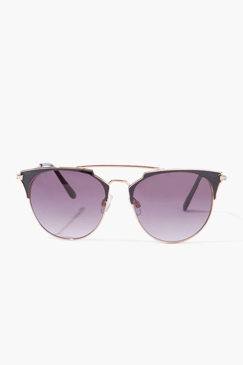 Half-Rim Frame Sunglasses, image 1