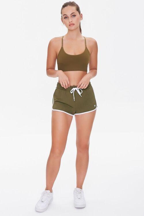 Active Stripe Ringer Shorts, image 5