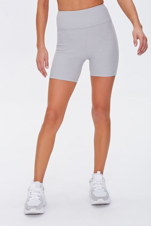 Active High-Rise Biker Shorts, image 2