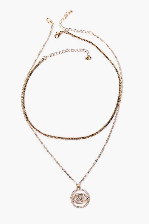 Eye Pendant Necklace Set, image 2