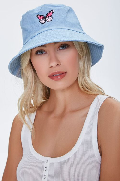 Butterfly Patch Bucket Hat, image 1