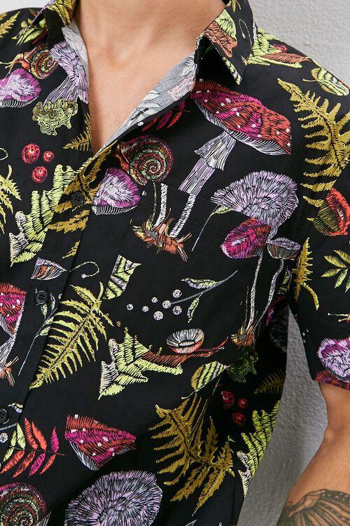 Mushroom Print Shirt, image 5