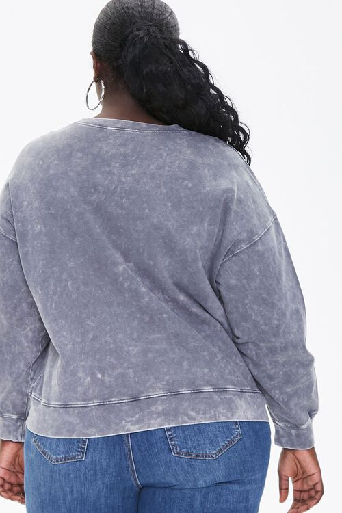 Plus Size Oil Wash Pullover, image 3