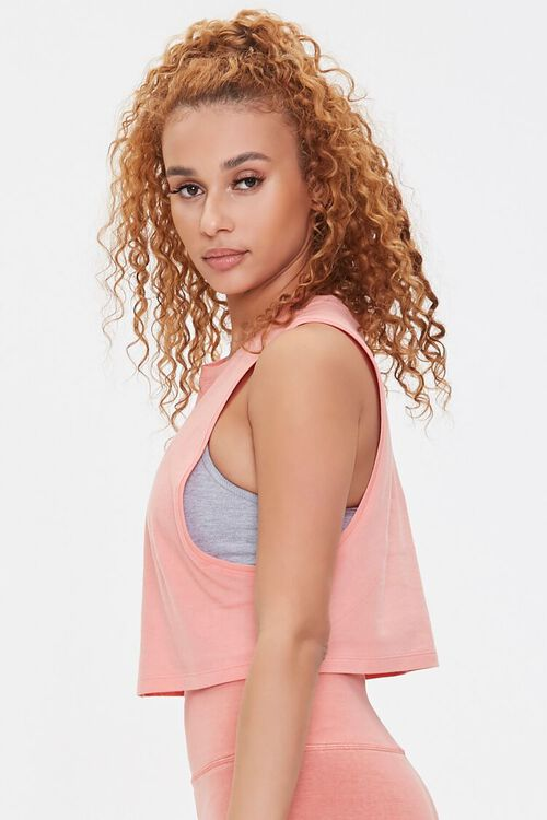 Active Cropped Muscle Tee, image 2