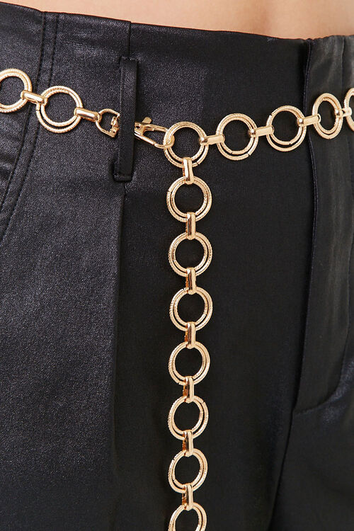 Etched O-Ring Chain Waist Belt, image 4