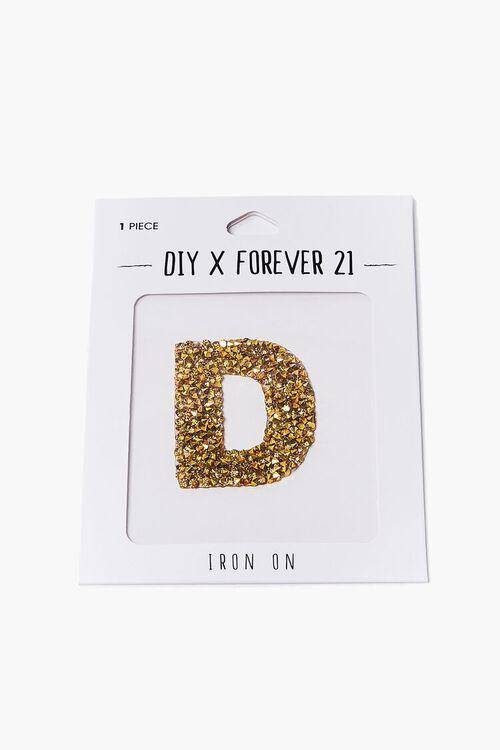 DIY Iron-On Embellishment Letter, image 2