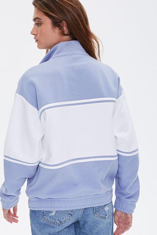 BLUE/MULTI New York Graphic Half-Zip Pullover, image 4