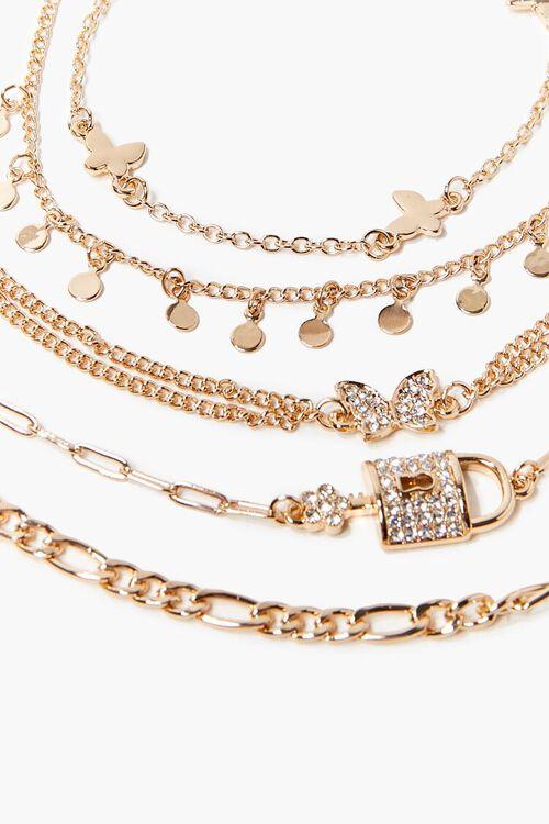 Butterfly Charm Bracelet Set, image 1