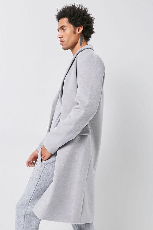 Notched Longline Coat, image 2