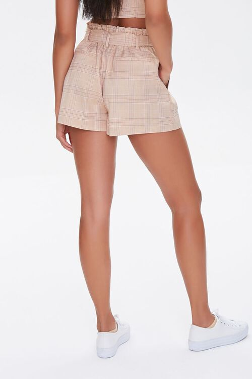 Plaid Paperbag Shorts, image 4
