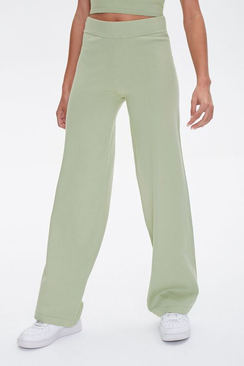 High-Rise Wide-Leg Pants, image 2