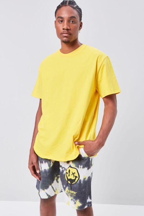Reason Tie-Dye Fleece Shorts, image 1