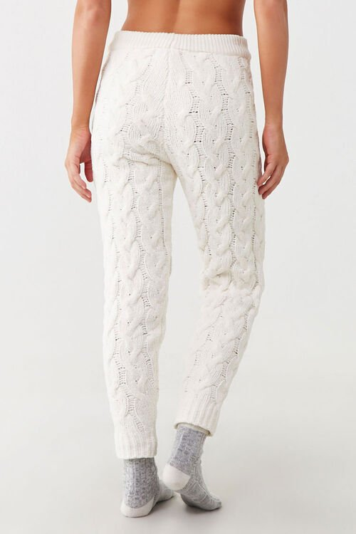 Cable-Knit Ankle Pants, image 3