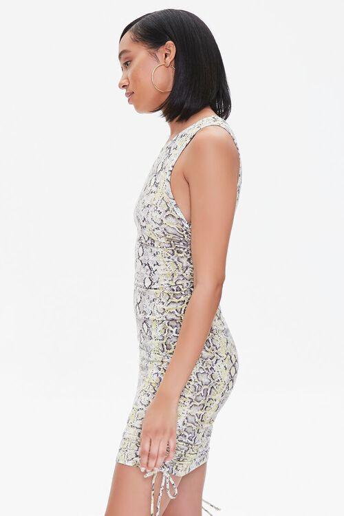 Snake Print Mini Dress, image 2