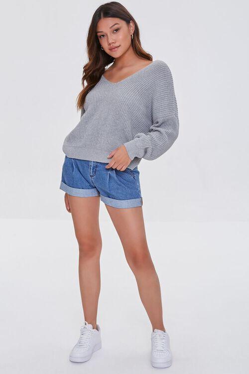 Ribbed Twist-Back Sweater, image 5