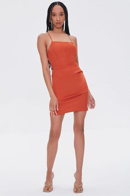 Lace-Back Mini Dress, image 4