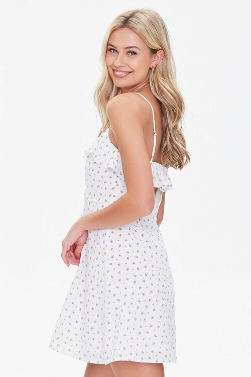 Ditsy Floral Mini Dress, image 2