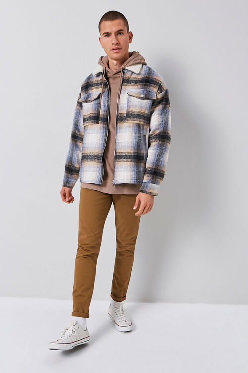 Plaid Zip-Up Jacket, image 4