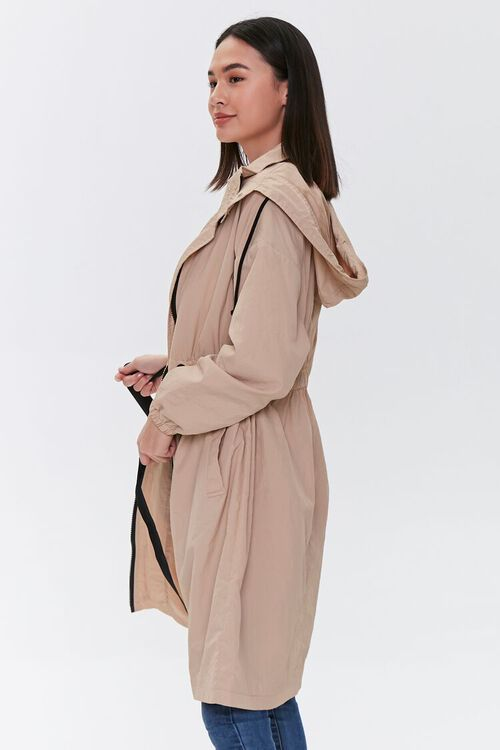 Hooded Longline Jacket, image 3