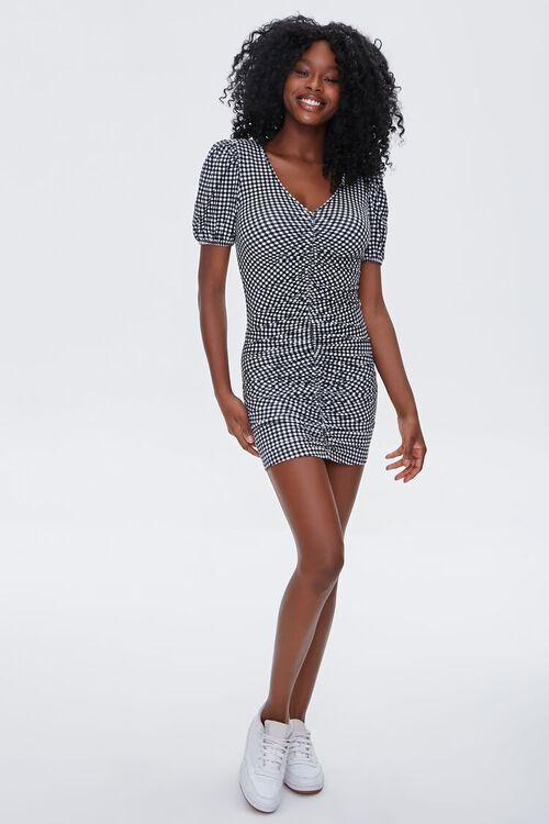 Gingham Bodycon Dress, image 4