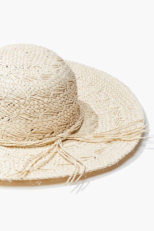 Seashell Charm Straw Hat, image 5