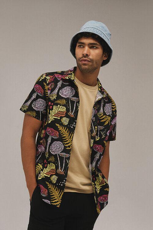 Mushroom Print Shirt, image 1