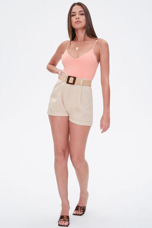 CORAL V-Neck Cami Bodysuit, image 4