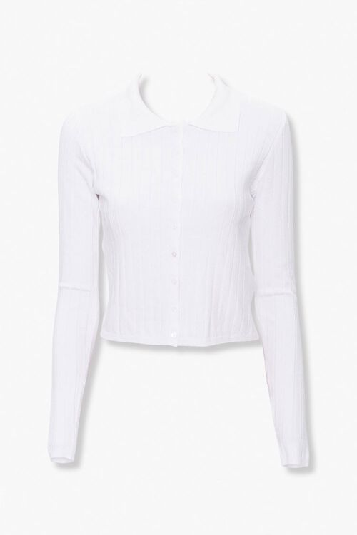 Collared Button-Down Cardigan, image 4