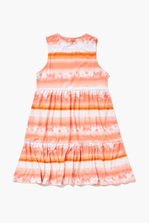 PINK/MULTI Girls Striped Cloud Wash Dress (Kids), image 2